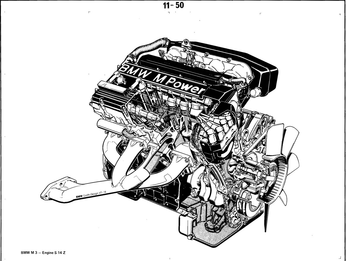 pierre u2019s e30 m3 buildup  u00bb engine  s14