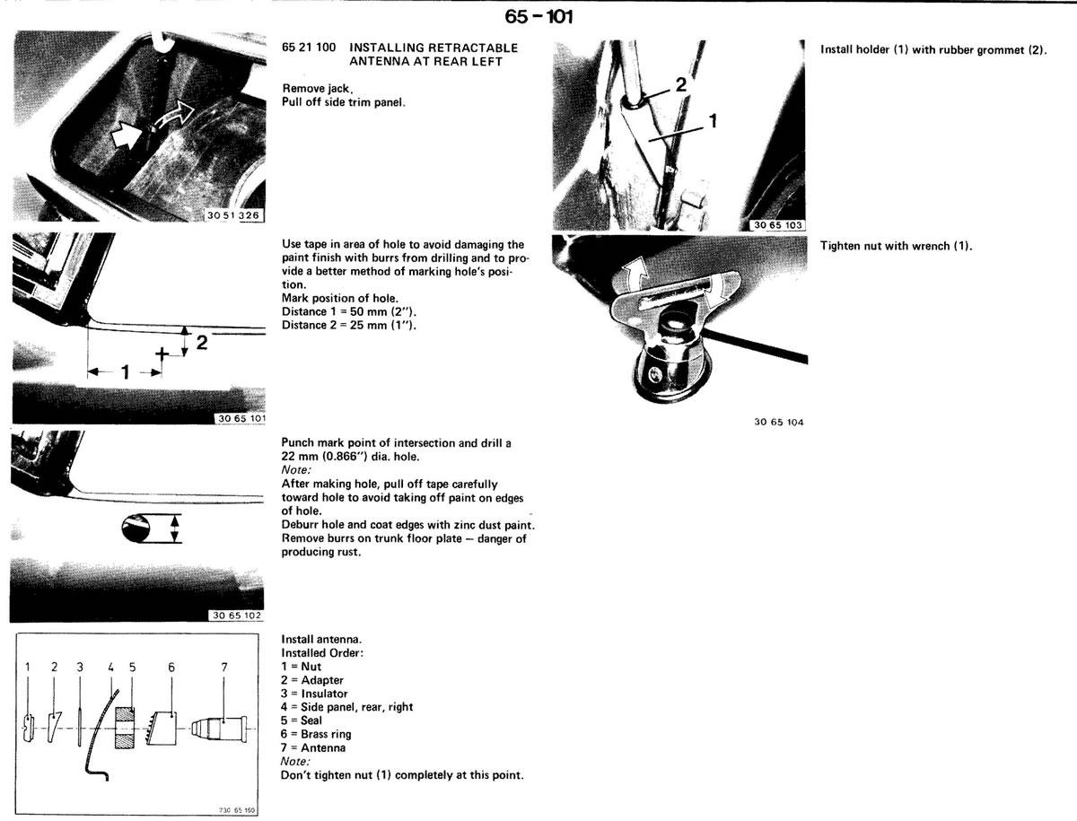 Pierre S E30 M3 Buildup 187 Radio And Special Equipment